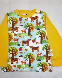 T-Shirt langarm (Bauernwiese)