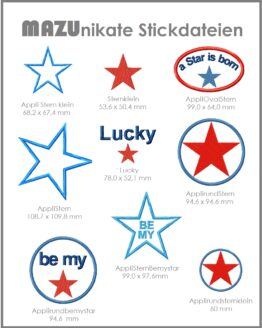 Shop Bild Stickserie Be my Star