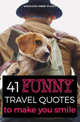 Funny travel quotes to make you smile