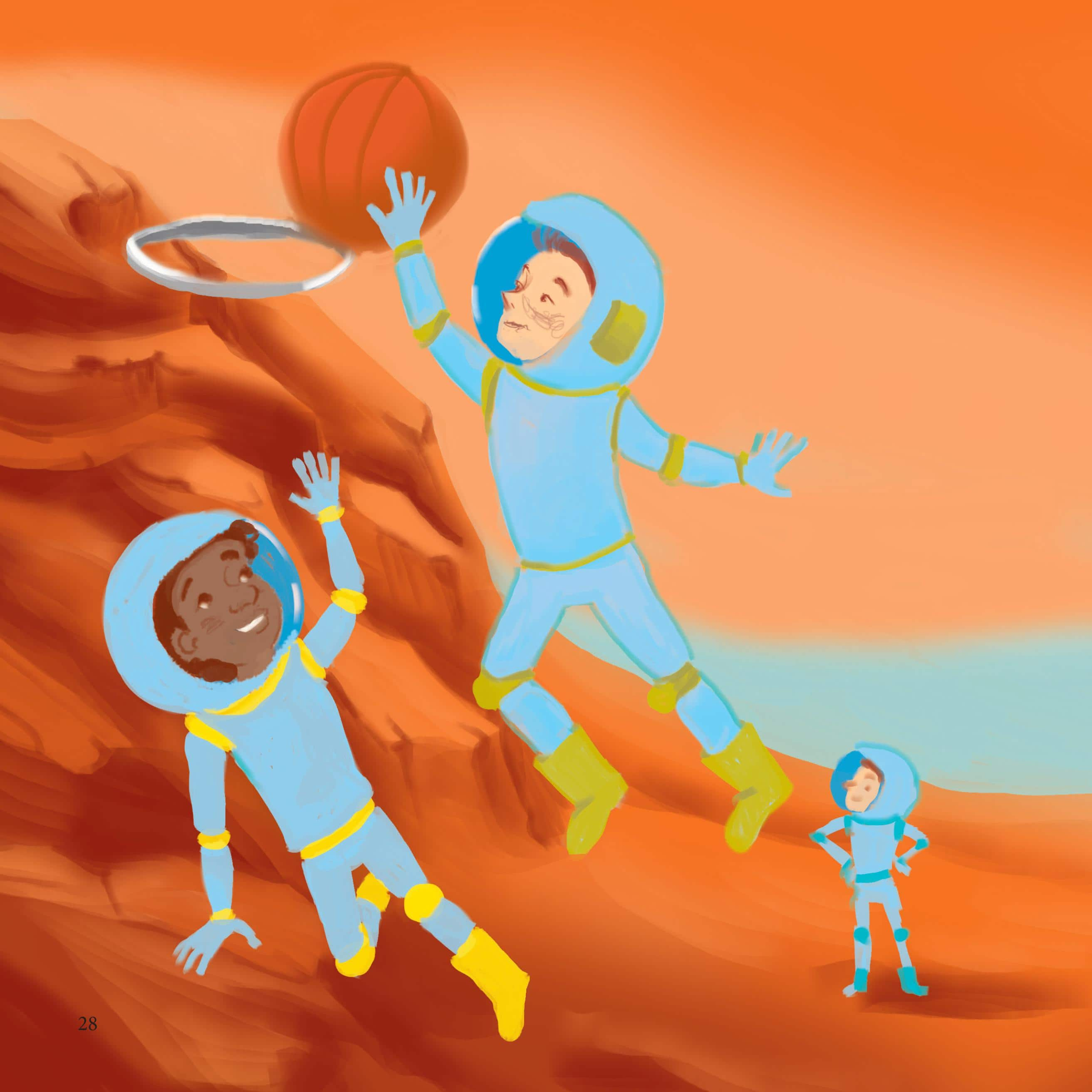 If You Were Me and Lived On Mars Illustration 2