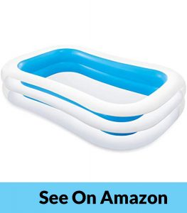 Intex Swim Center Family Inflatable Pool (Rectangular)