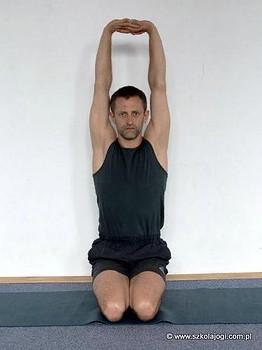 parvatasana  szkoła jogi sadhana  joga kraków