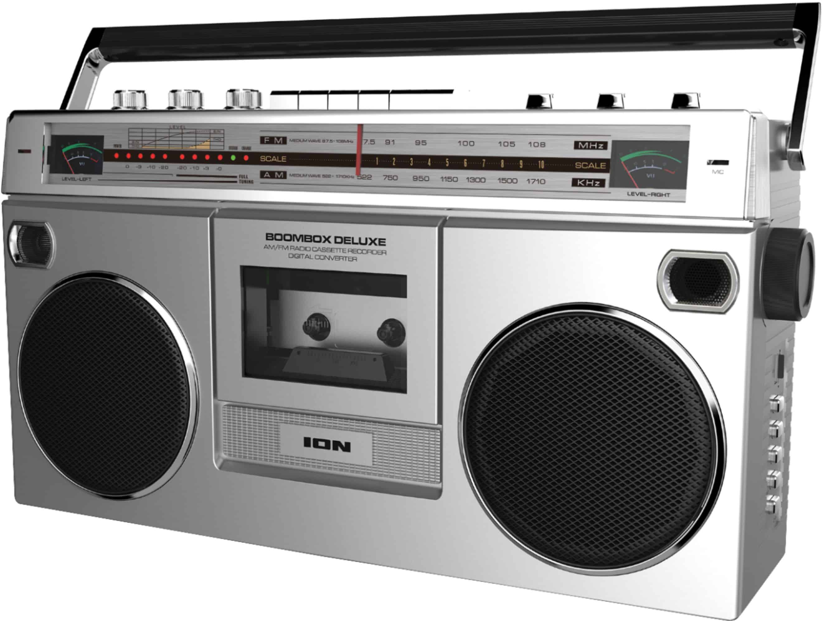 Kicking It Old School With The ION Boombox Deluxe Bluetooth Speaker #ad