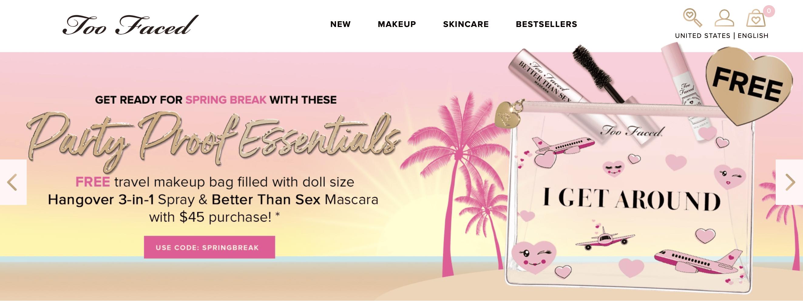 eCommerce header images