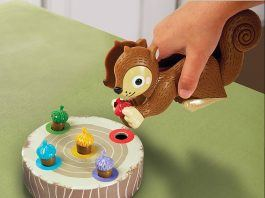Sneaky Squirrel Game for kids