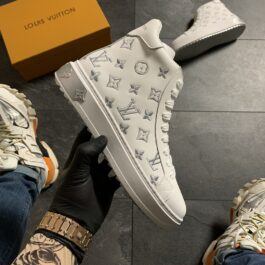 Женские кроссовки Louis Vuitton Sneakers High White