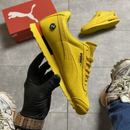Puma Roma x BMW Triple Yellow (Жёлтый)