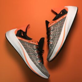 Nike EXP-X14 Grey Black Orange (Черный)