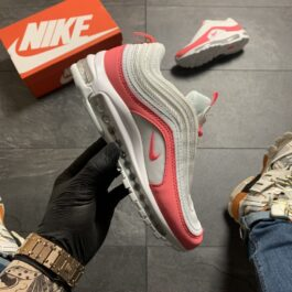 Женские кроссовки Nike Air Max 97 White Red