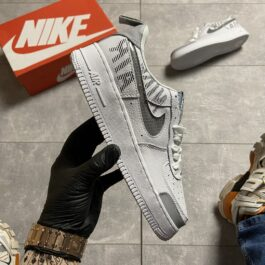 Nike Air Force '07 LV8 white/grey (Серый)