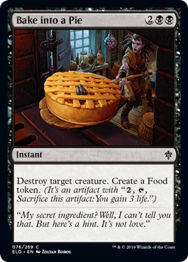 Bake into a Pie Best Eldraine Draft Commons