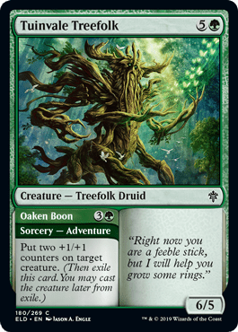 Tuinvale Treefolk Throne of Eldraine Draft Guide
