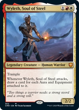 Wyleth, Soul of Steel Commander Legends Deck Decklist