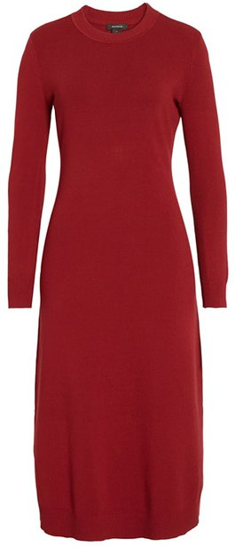 Halogen sweater dress | 40plusstyle.com