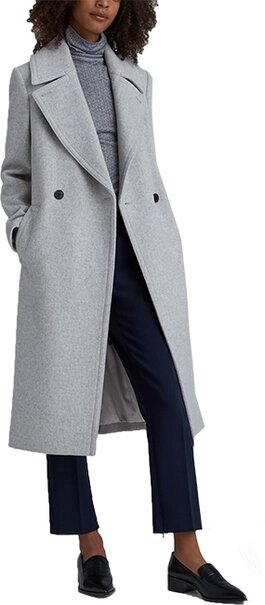 Club Monaco Daylina wool coat | 40plusstyle.com