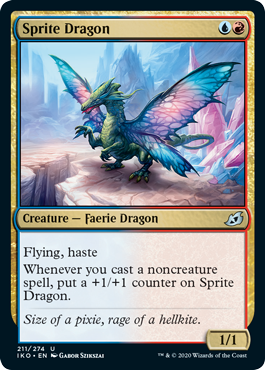 Sprite Dragon Ikoria Draft Guide