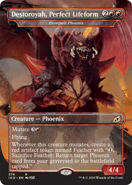 Destroyah, Perfect Lifeform Godzilla Cards MTG