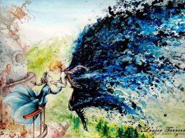 Studio Ghibli Characters Redrawn In Watercolor Paintings