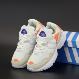 Кроссовки Adidas Yung-96 White Orange