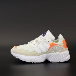 Кроссовки Adidas Yung-96 White Orange