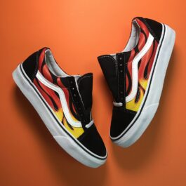 Vans Old Skool Black Burn (Черный)