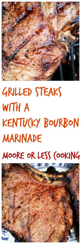 Grilled Steaks with Kentucky Bourbon Marinade and a ButcherBox Giveaway!
