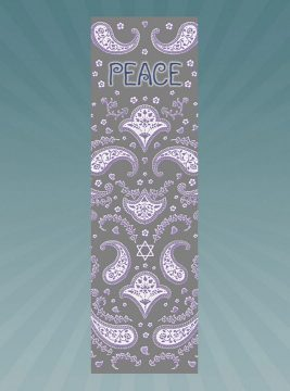 CM186 Peace Car Mezuzah by Mickie Caspi