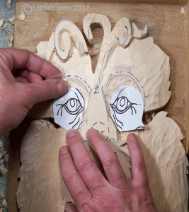 how to trace your pattern to the wood