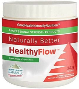 HealthyFlow Tm supplements for clogged arteries
