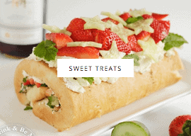 sweet treat recipes by Sew White
