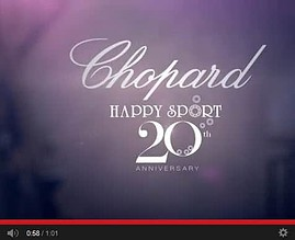 The Happy Sport watch 20th anniversary – presented by Chopard [Video]