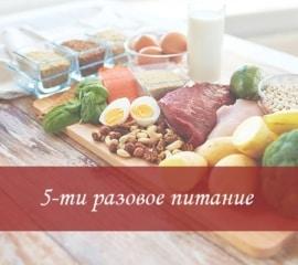 Пятиразовое питание в доме престарелых Уютный Дом