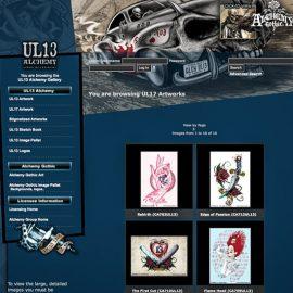 Alchemy UL13-illustration kan licensieras från licensbyrån Kook Management