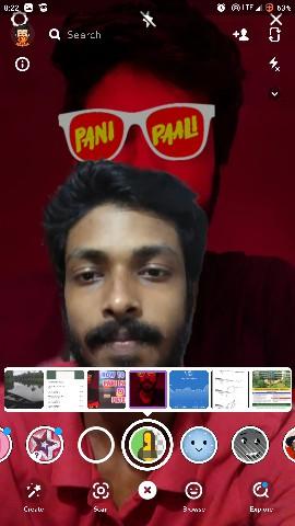 change background snapchat filter