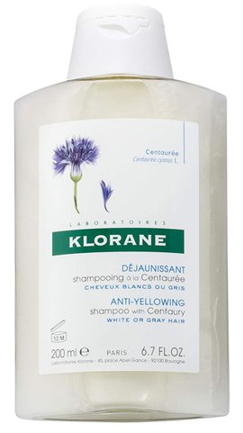 Klorane Anti-Yellowing Shampoo  | 40plusstyle.com