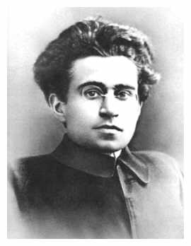 Portrait of Antonio Gramsci around 30 in the early 1920s - sourced from Wikimedia Commons. Marked as being in the public domain because its copyright has expired.