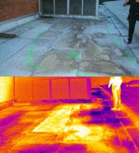 Infrared Moisture Survey