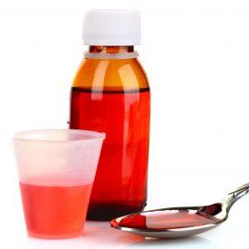 cough medicine bottle