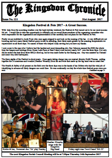 Kingsdon Chronicle August 2017