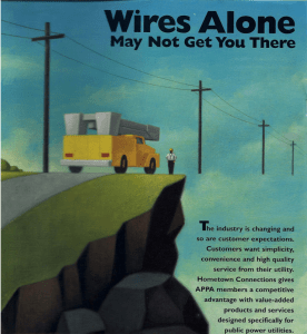 Wires Alone advertisement