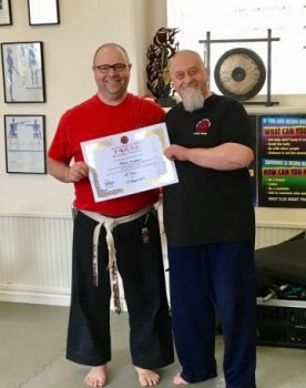 Promotion to 6th Dan