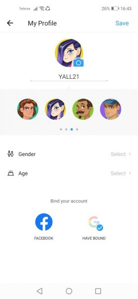 How to change your profile photo in ShareIt app 7