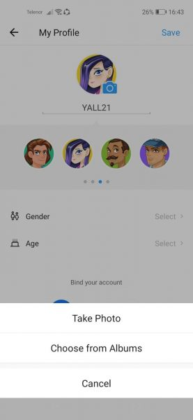 How to change your profile photo in ShareIt app 8