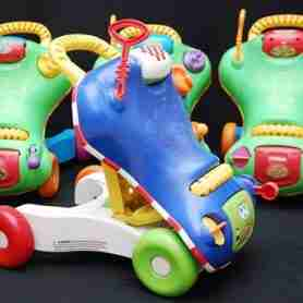 Rent a Walk Ride Toy