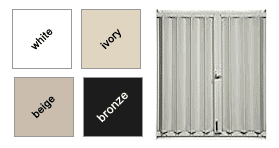 Accordion Shutters Available Colors