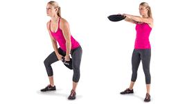 SandBell Exercises - Hip Swing