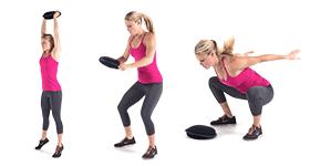 SandBell Exercices - SandBell Slam
