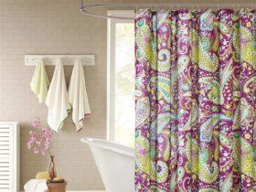 Intelligent Design Melissa shower curtain