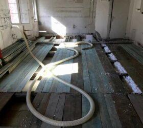 Fúkaná izolácia trámový strop