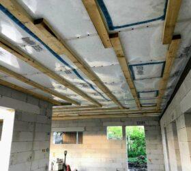 Fúkaná izolácia stropu